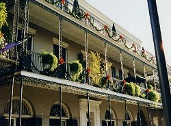 French Quarter at Christmas